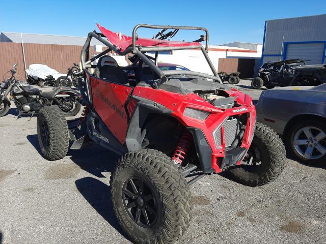Salvage cars for sale from Copart Las Vegas, NV: 2018 Polaris RZR XP Turbo