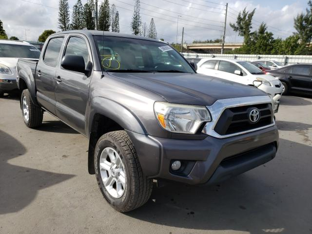Salvage cars for sale from Copart Miami, FL: 2015 Toyota Tacoma DOU