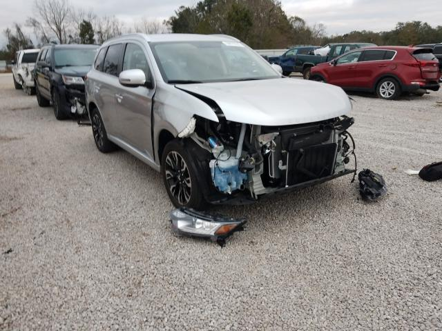 Salvage cars for sale at Theodore, AL auction: 2018 Mitsubishi Outlander