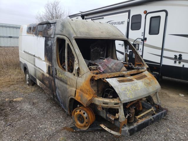 Salvage cars for sale from Copart Davison, MI: 2014 Dodge RAM Promaster