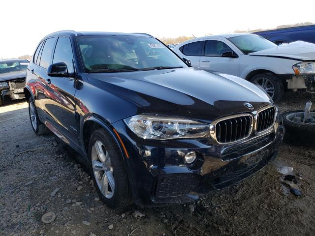 Salvage cars for sale from Copart Temple, TX: 2018 BMW X5 XDRIVE3