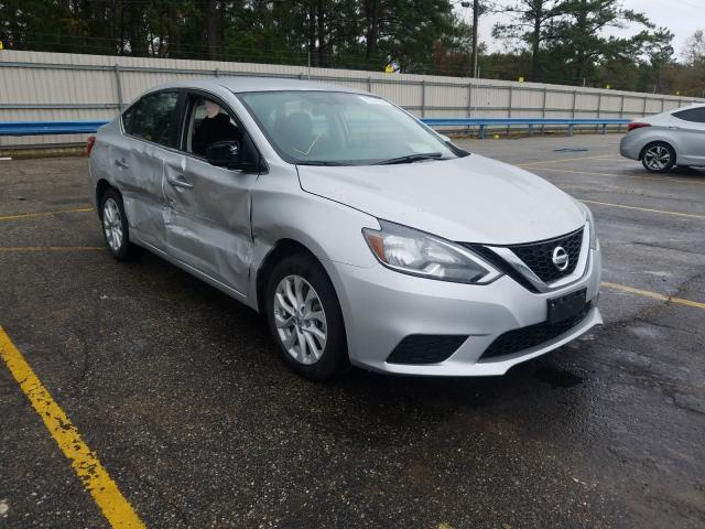 Salvage cars for sale from Copart Eight Mile, AL: 2019 Nissan Sentra S