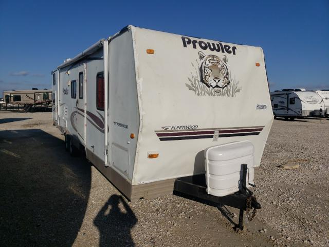 Salvage cars for sale from Copart Haslet, TX: 2005 Prowler Travel Trailer