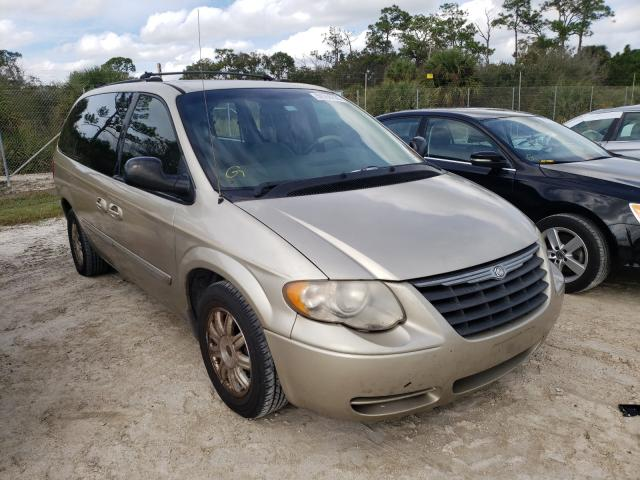 Chrysler Town & Country salvage cars for sale: 2005 Chrysler Town & Country