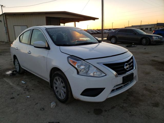 Salvage cars for sale from Copart Temple, TX: 2016 Nissan Versa S