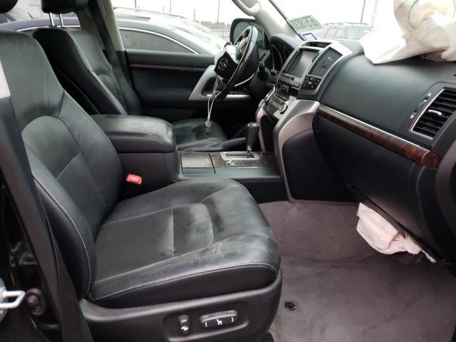 пригнать из сша 2013 Toyota Land Cruis 5.7L JTMHY7AJ3D4010483