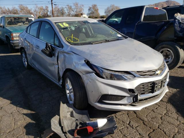 Salvage cars for sale from Copart Colton, CA: 2016 Chevrolet Cruze LT