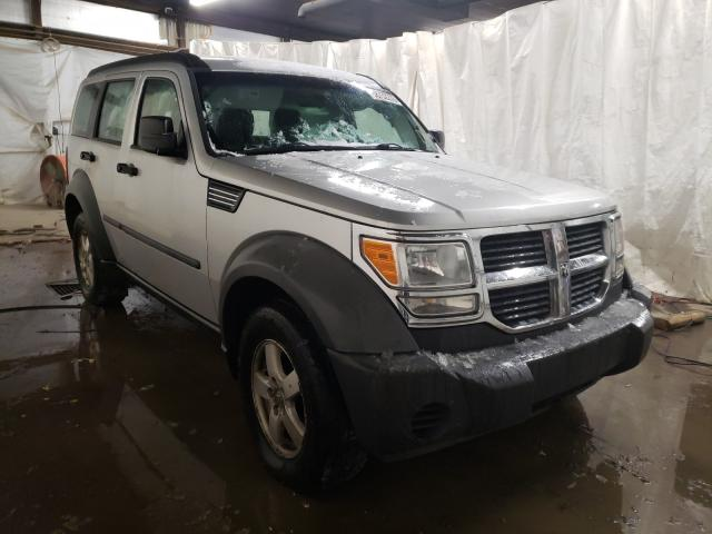 Salvage cars for sale from Copart Ebensburg, PA: 2008 Dodge Nitro SXT