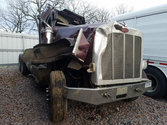 Salvage cars for sale from Copart Avon, MN: 2013 Peterbilt 388