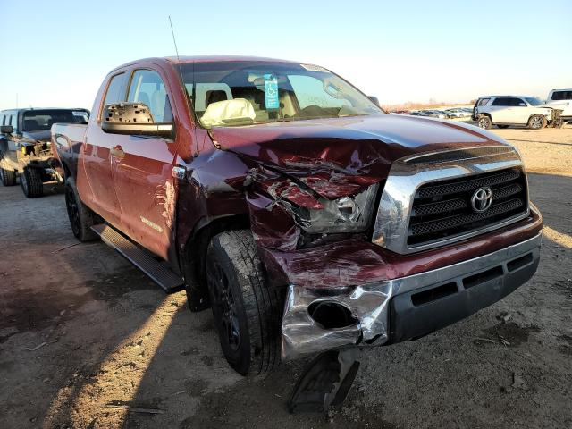 Salvage cars for sale from Copart Temple, TX: 2007 Toyota Tundra DOU