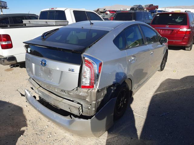 цена в сша 2012 Toyota Prius 1.8L JTDKN3DU7C5534760