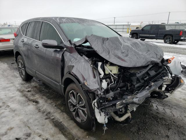 Salvage cars for sale from Copart Airway Heights, WA: 2020 Honda CR-V EX