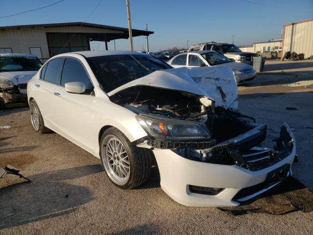 Salvage cars for sale from Copart Temple, TX: 2015 Honda Accord Sport