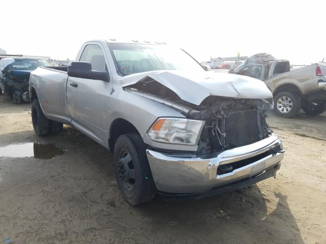 Salvage trucks for sale at Fresno, CA auction: 2014 Dodge RAM 3500 ST