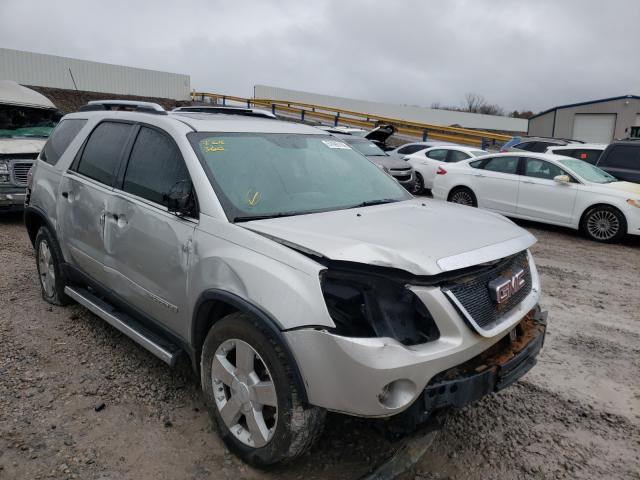 Salvage cars for sale from Copart Hueytown, AL: 2008 GMC Acadia SLT