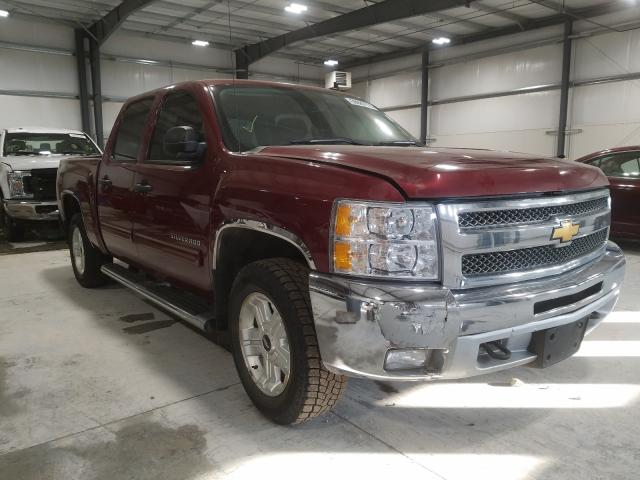 Salvage cars for sale from Copart Greenwood, NE: 2013 Chevrolet Silverado