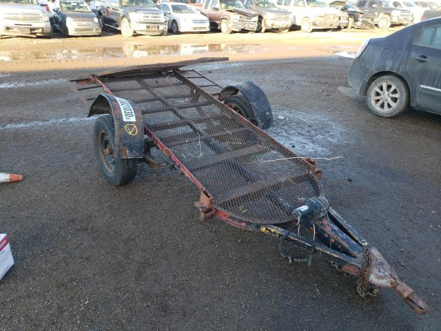 Salvage cars for sale from Copart Amarillo, TX: 2000 Homemade Trailer