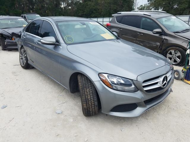 Salvage cars for sale from Copart Ocala, FL: 2015 Mercedes-Benz C300
