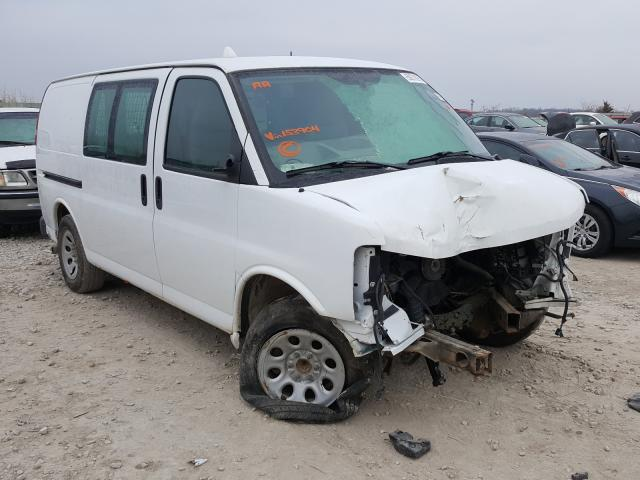 Salvage cars for sale from Copart Kansas City, KS: 2014 Chevrolet Express G1