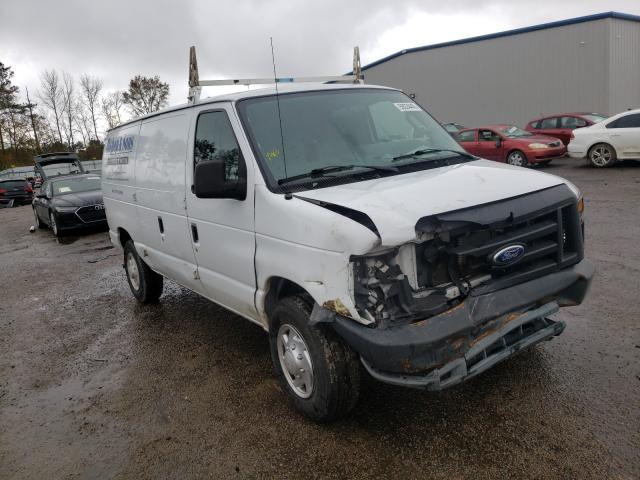 Salvage cars for sale from Copart Harleyville, SC: 2014 Ford Econoline