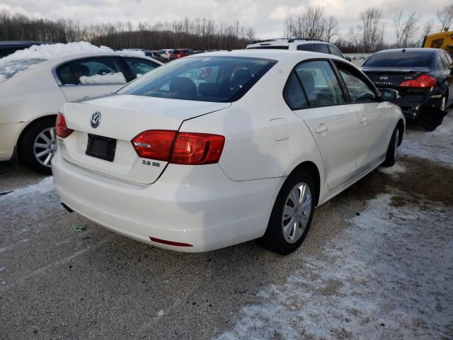 цена в сша 2012 Volkswagen Jetta Se 2.5L 3VWDP7AJ3CM108155