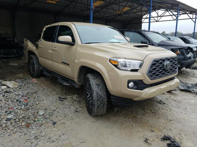 Vehiculos salvage en venta de Copart Cartersville, GA: 2020 Toyota Tacoma DOU