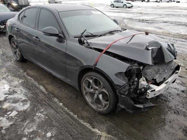 Salvage cars for sale from Copart Airway Heights, WA: 2017 Alfa Romeo Giulia TI