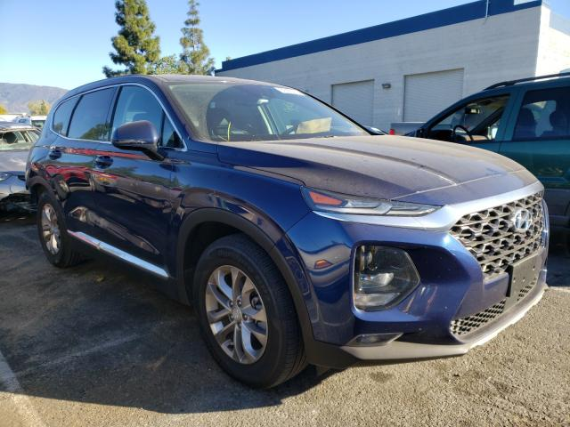 Salvage cars for sale from Copart Rancho Cucamonga, CA: 2020 Hyundai Santa FE S