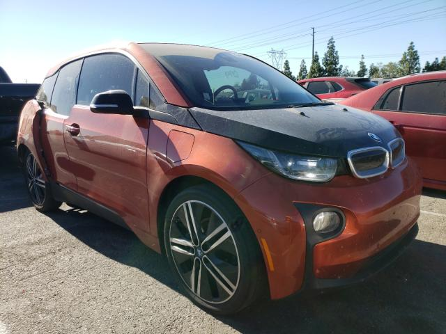 Salvage cars for sale from Copart Rancho Cucamonga, CA: 2015 BMW I3 REX