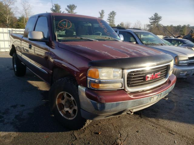 Salvage cars for sale from Copart Exeter, RI: 1999 GMC New Sierra