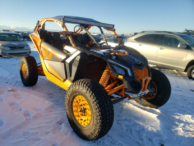 Salvage cars for sale from Copart Brighton, CO: 2020 Can-Am Maverick X