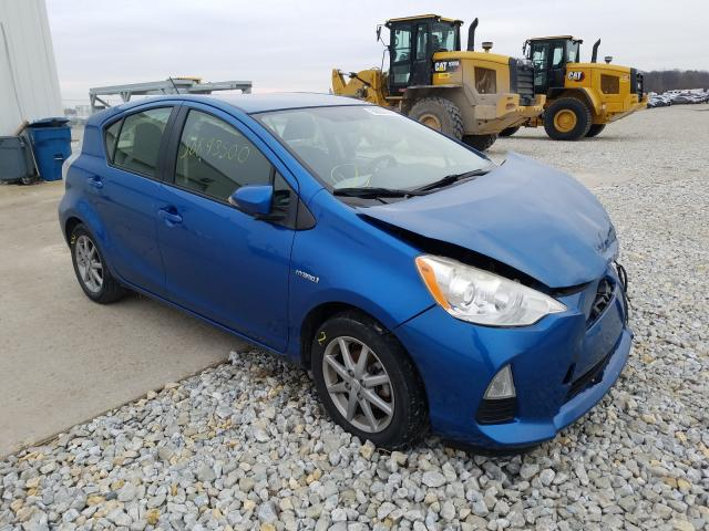 Salvage cars for sale from Copart Cicero, IN: 2012 Toyota Prius C