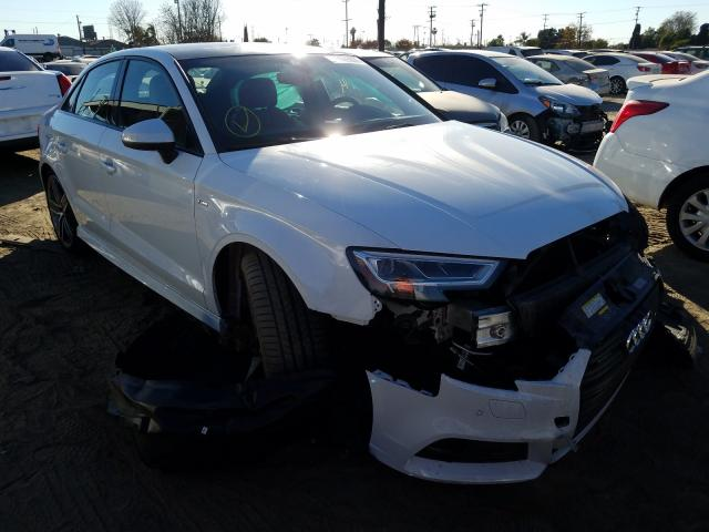 Salvage cars for sale from Copart Los Angeles, CA: 2020 Audi A3 S-Line
