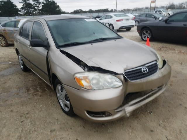 Salvage cars for sale from Copart Newton, AL: 2005 Toyota Corolla CE