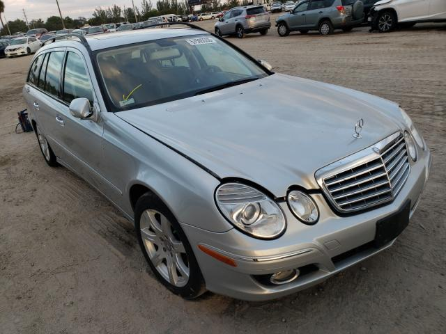 Salvage cars for sale at West Palm Beach, FL auction: 2008 Mercedes-Benz E 350 4matic