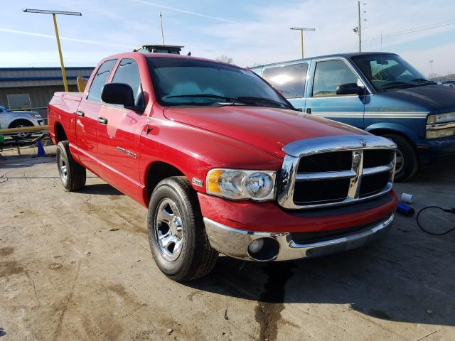 Salvage cars for sale from Copart Lebanon, TN: 2003 Dodge RAM 1500 S