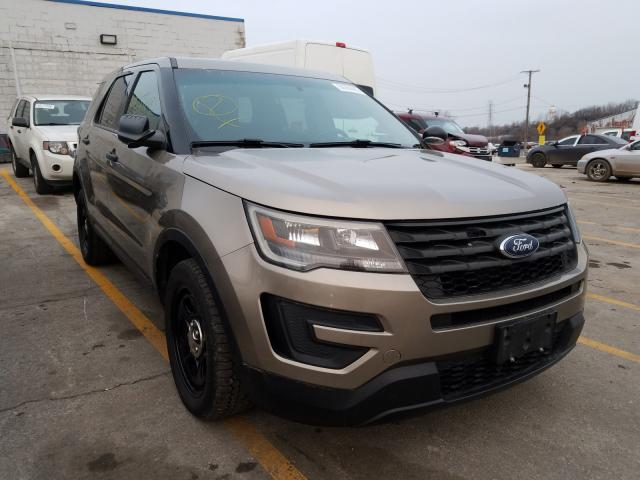 Salvage cars for sale from Copart Chicago Heights, IL: 2016 Ford Explorer P