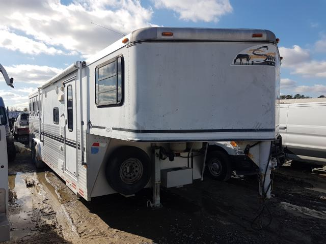Sundowner salvage cars for sale: 1999 Sundowner Horse Trailer