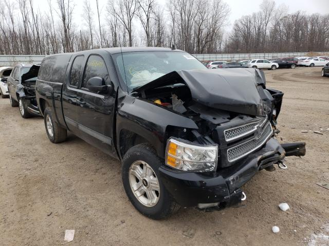 Salvage cars for sale from Copart Davison, MI: 2012 Chevrolet Silverado