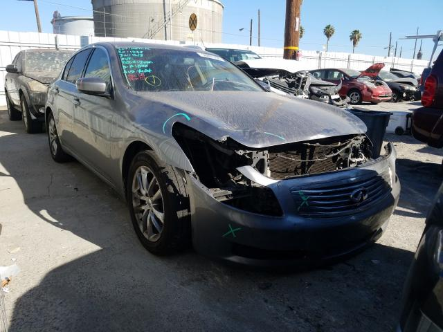 Salvage cars for sale from Copart Wilmington, CA: 2009 Infiniti G37 Base