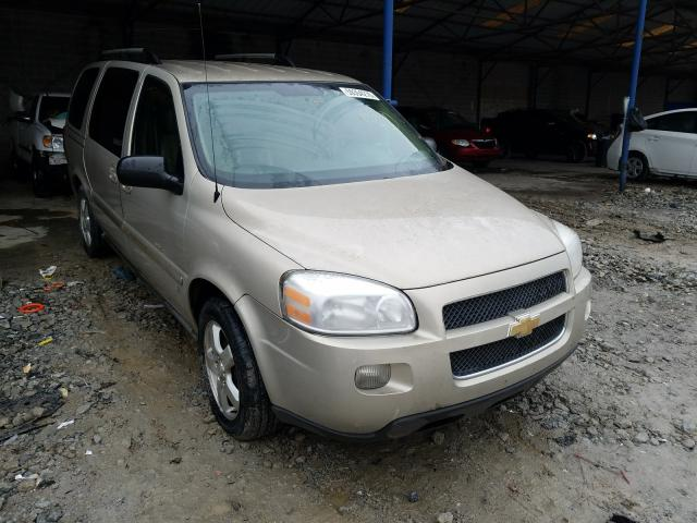 Chevrolet Uplander salvage cars for sale: 2007 Chevrolet Uplander