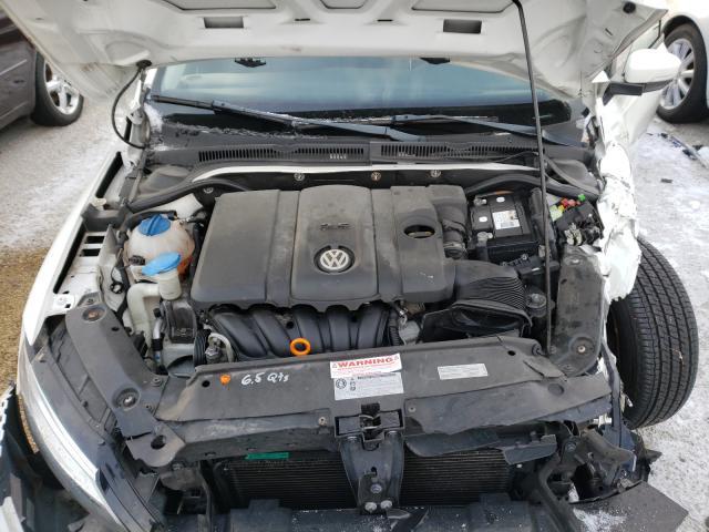 3VWDP7AJ3CM108155 2012 Volkswagen Jetta Se 2.5L