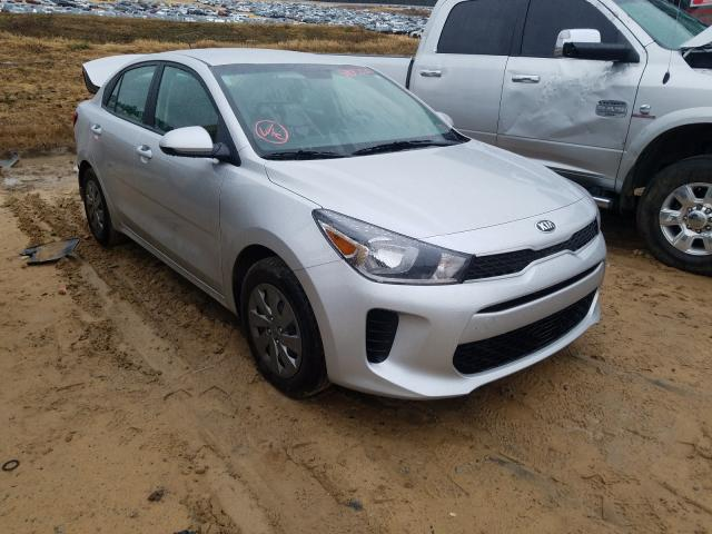 Salvage cars for sale from Copart Gaston, SC: 2020 KIA Rio LX