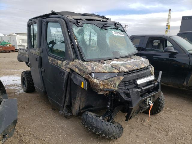 Salvage cars for sale from Copart Casper, WY: 2019 Polaris Ranger CRE