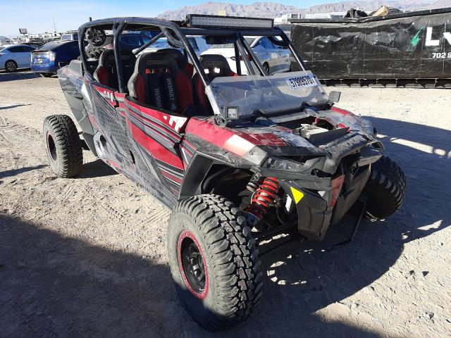 Salvage cars for sale from Copart Las Vegas, NV: 2016 Polaris RZR XP 4 T