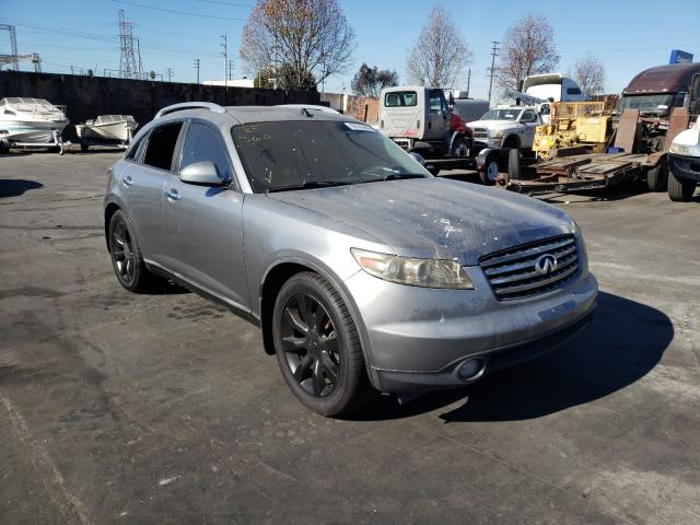 Salvage cars for sale from Copart Wilmington, CA: 2005 Infiniti FX35