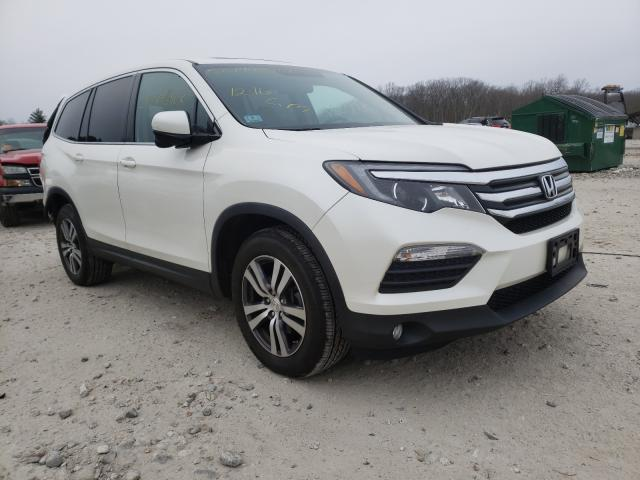 Salvage cars for sale from Copart West Warren, MA: 2016 Honda Pilot Exln