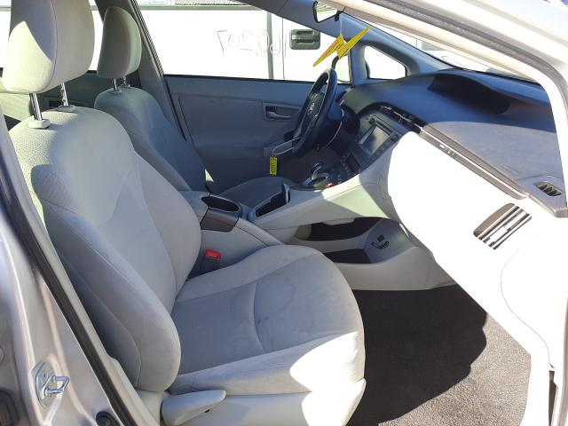 пригнать из сша 2012 Toyota Prius 1.8L JTDKN3DU7C5534760