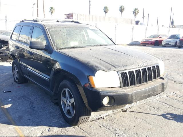 Salvage cars for sale from Copart Wilmington, CA: 2005 Jeep Grand Cherokee
