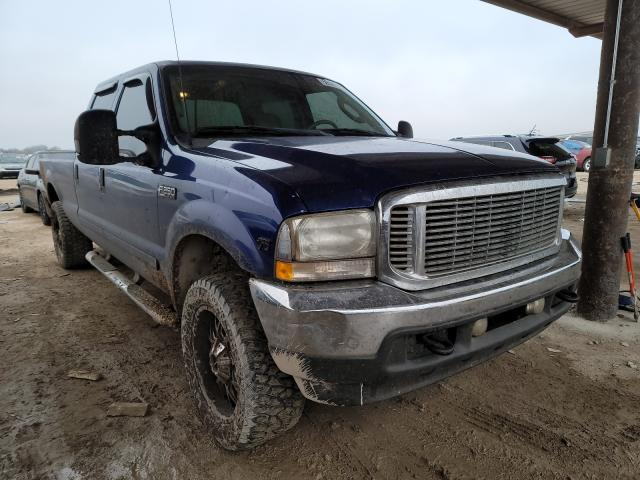 Salvage cars for sale from Copart Temple, TX: 2003 Ford F250 Super